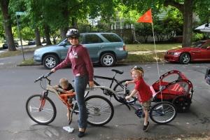 From biking for pleasure to biking to work.